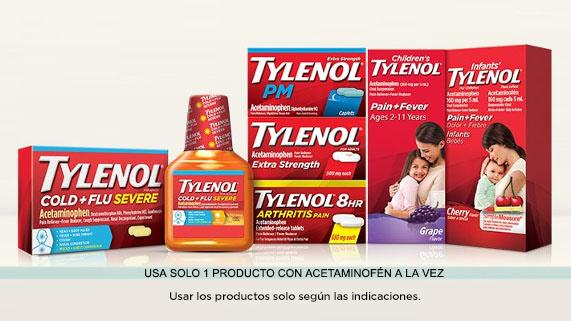 ¡Productos TYLENOL® en los que puedes ahorrar hoy!